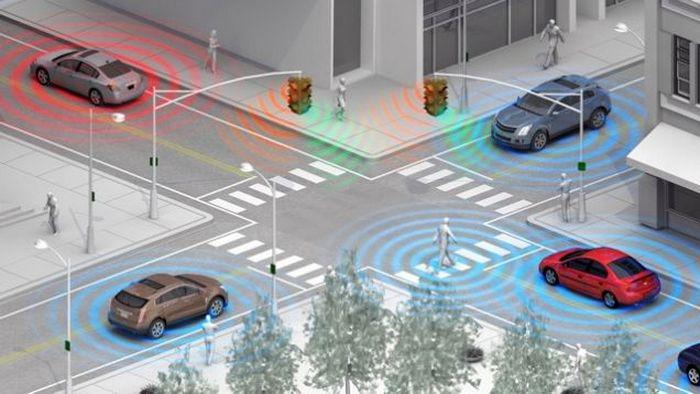 Средства связи между автомобилями.