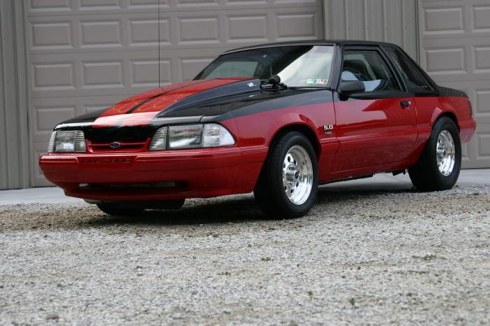 Fox Body Mustang.