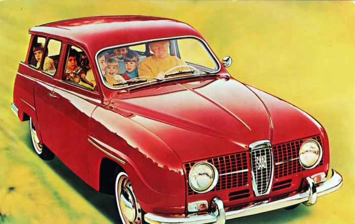Saab 95 Wagon.