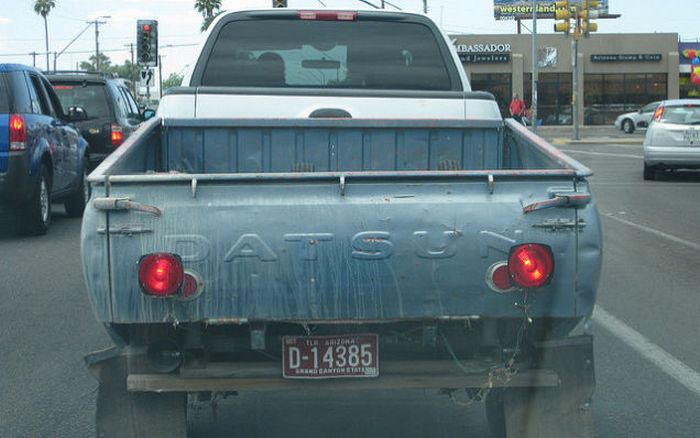 Багажник пикапа – трейлер.