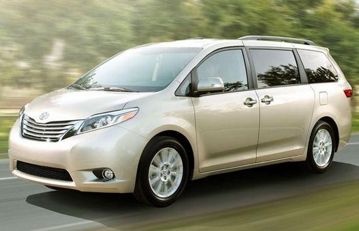 Toyota Sienna.
