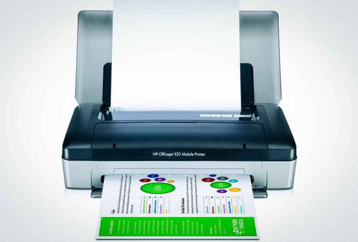 Портативный принтер.