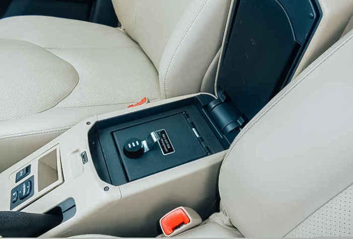 Автомобильный сейф.