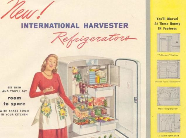 Бытовая техника International Harvester.