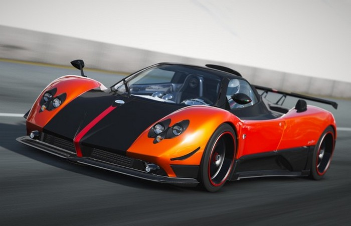 Автомобиль Pagani Zonda Cinque Roadster.