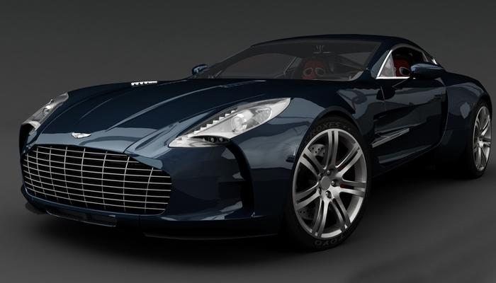 Автомобиль Aston Martin One-77.