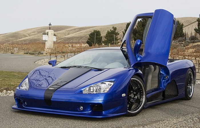 Автомобиль SSC Ultimate Aero.
