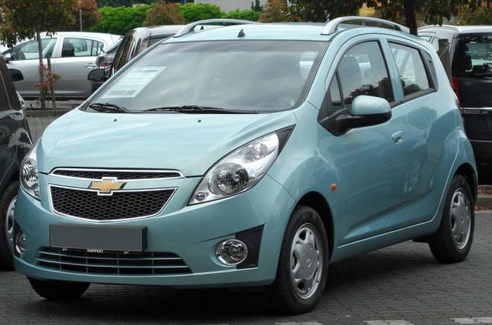 Chevrolet Spark - шумный и тесный автомобиль.