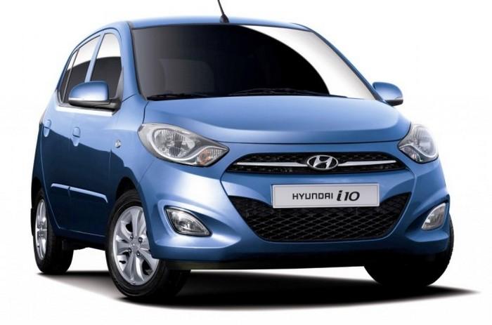 Hyundai I10 - автомобиль с низкой маневренностью.