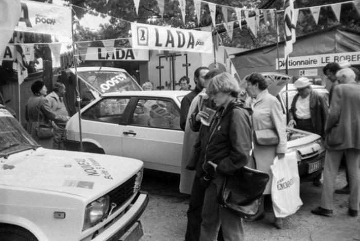 Lada Samara активно шла на экспорт.