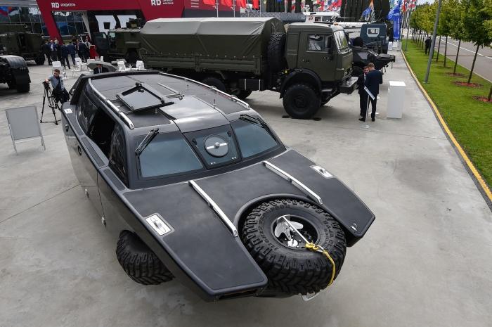 Автомобиль выглядит не слишком красиво. |Фото: m.tvzvezda.ru.