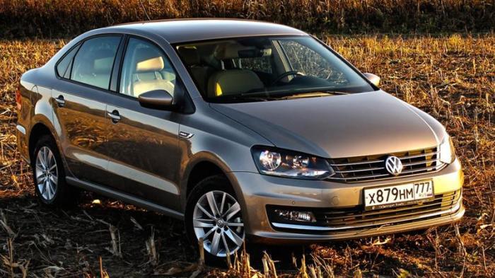 Можно смело брать и Volkswagen Polo.