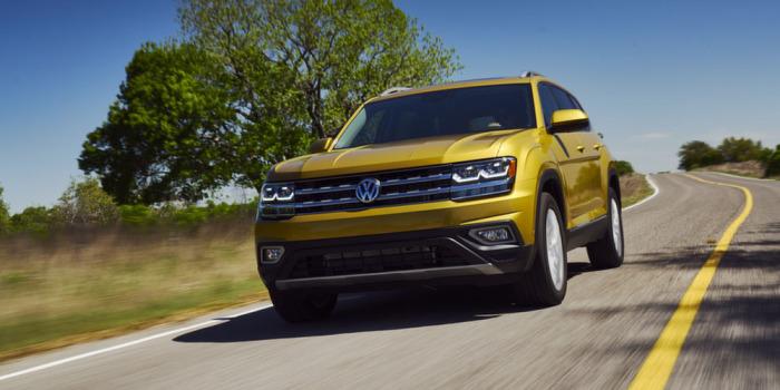 Роскошный Volkswagen Teramont.