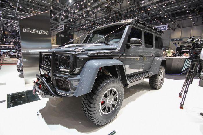 Автомобиль Brabus 550 Adventure 4×4 специально для Женевы.