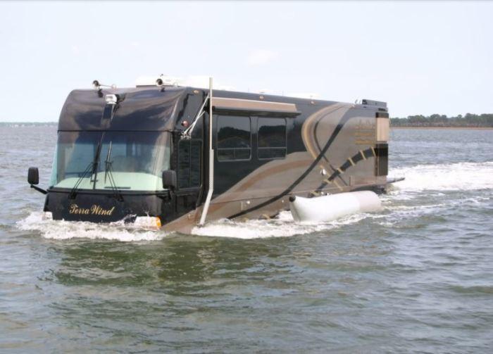 CAMI Terra Wind Motorhome для настоящих путешественников.