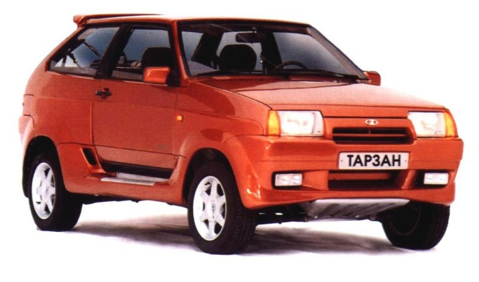 Славный автомобиль ВАЗ 210934 «Тарзан».
