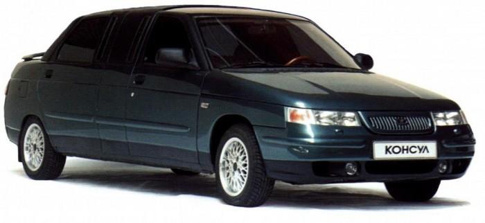 Представительский лимузин ВАЗ 21109 «Консул».