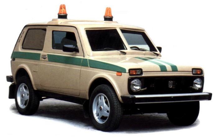 Специальный автомобиль ВАЗ 212182 «Форс».