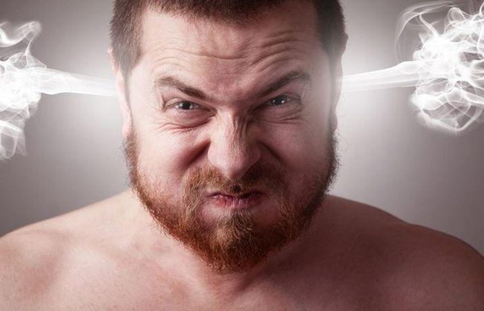 Условно здоровая привычка: сдерживание гнева.