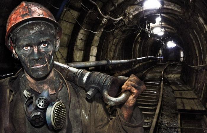 Профессиональный шахтер.