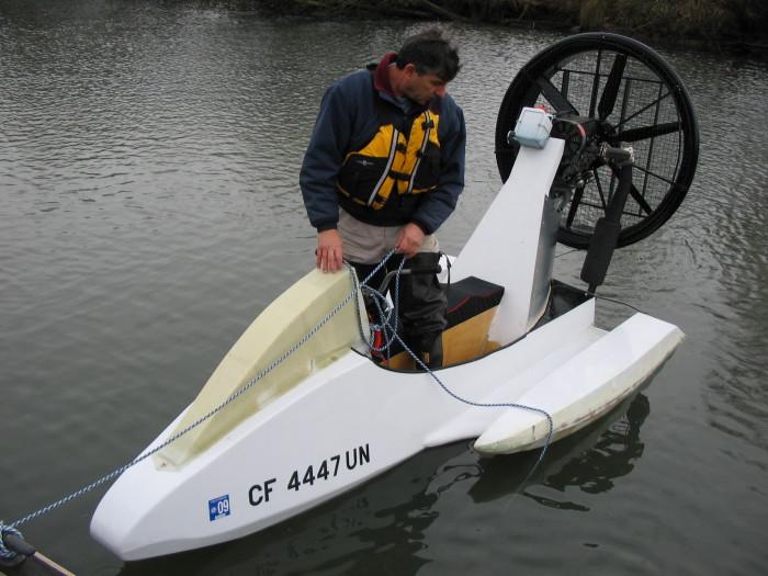 Самый экологичный водный мотоцикл.