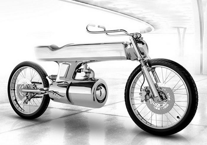 Футуристический концепт мотоцикла EVE.