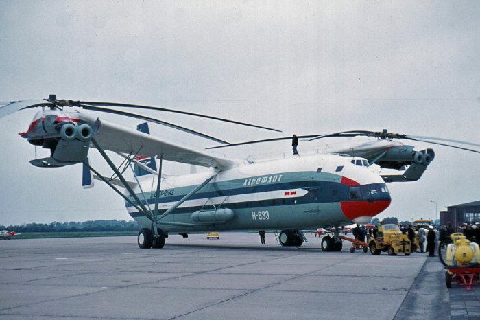 Ми-12 – отечественный вертолет, который до сих пор считается самым большим в мире