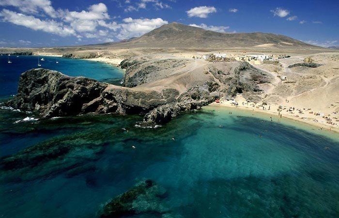 Красивейшее место: Канарские острова.