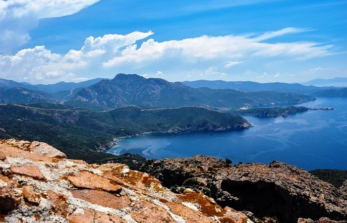 Красивейшее место: остров Корсика.