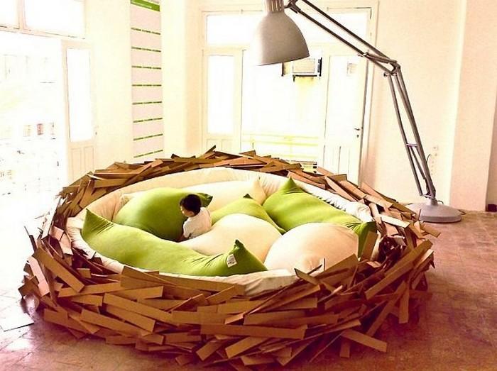 Кровать, разработанная для выставки Green Garden в 2008 году.