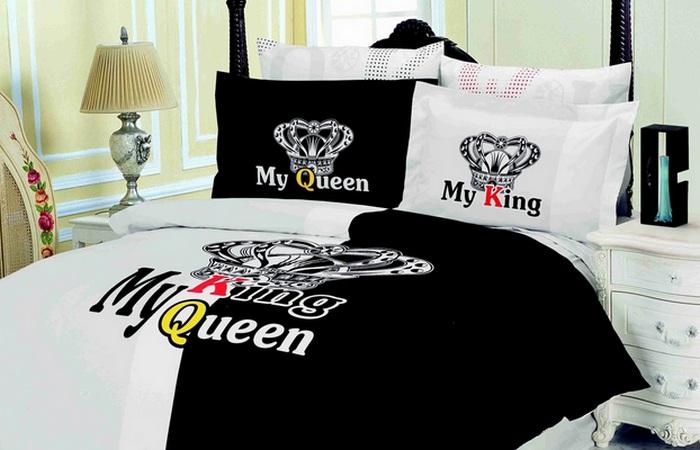 Оригинальное белье «Король и Королева».