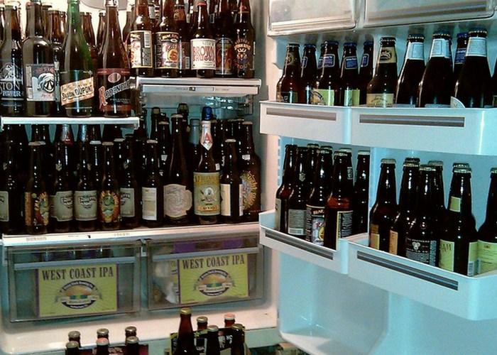 Хранить пиво можно где угодно.