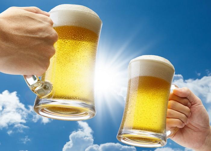 Свет может повредить пиву.