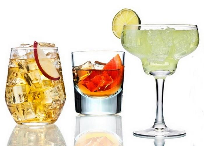 В пиве калорий меньше, чем в коктейлях.