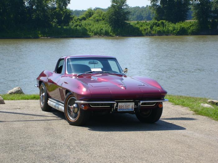 1966 Corvette.