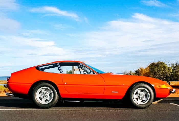 1971 Ferrari Daytona.