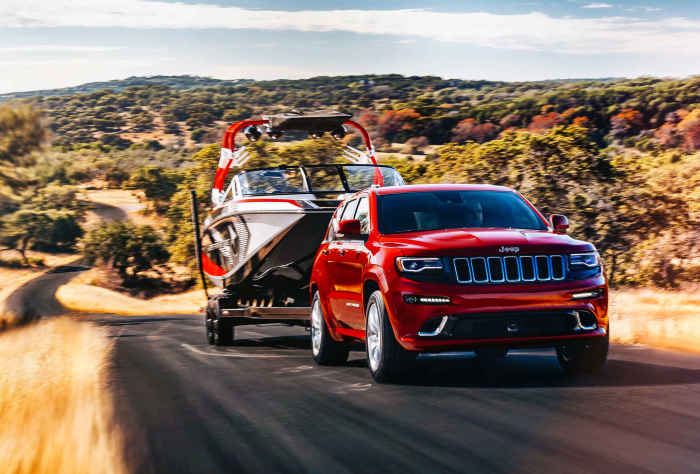 2016 Jeep Grand Cherokee SRT.