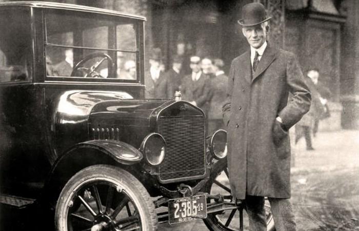 Генри Форд и все, все, все.