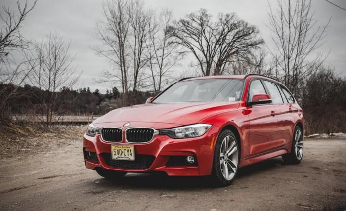 BMW 3-series sports wagon.