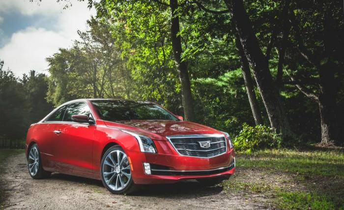 Cadillac ATS.