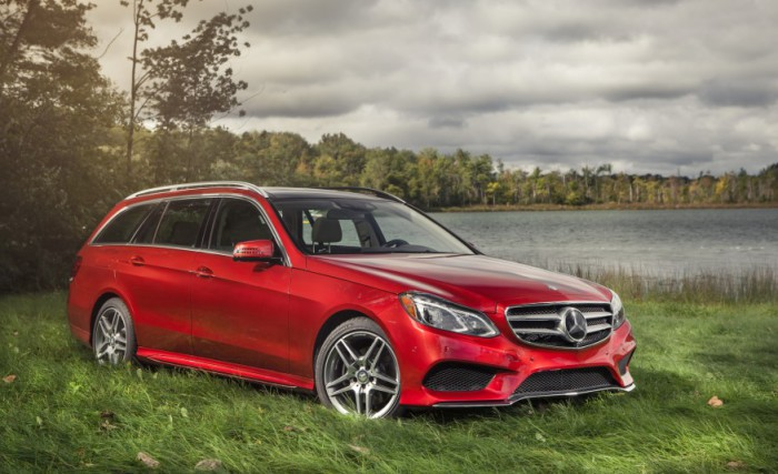 Mercedes-Benz E-class wagon.
