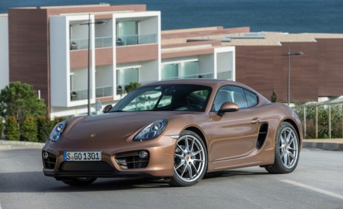 Porsche Cayman.