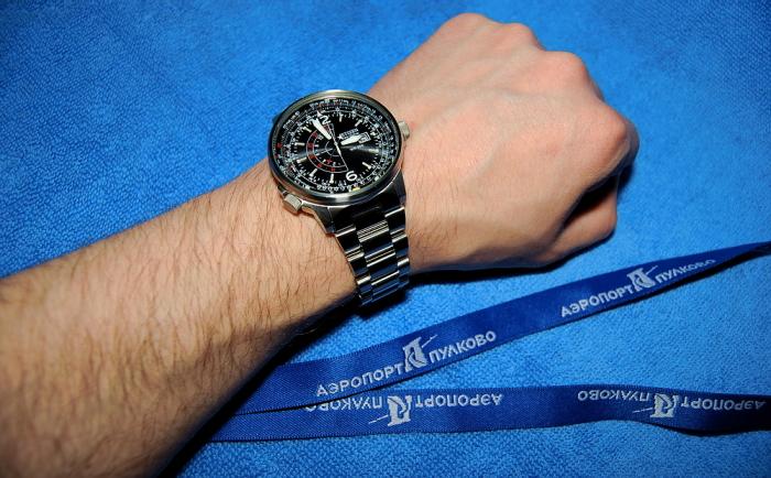 Легендарные японские часы Citizen.