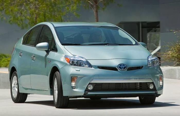 Кто бы мог подумать на Toyota Prius.
