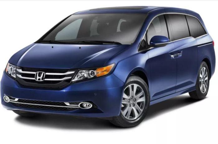 Высокое качество Honda Odyssey.