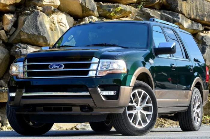 Гордый Ford Expedition не подкачал.