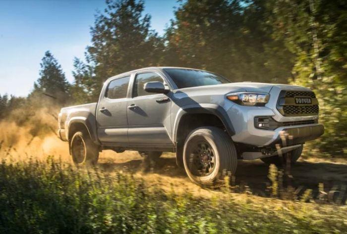 Нужен пикап, бери новый Toyota Tacoma.