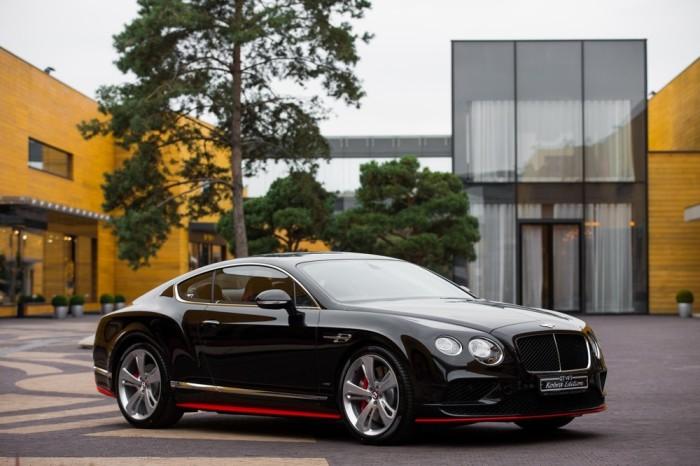 Лучшим британским авто был назван Bentley Continental GT V8. ¦Фото: vk.com.