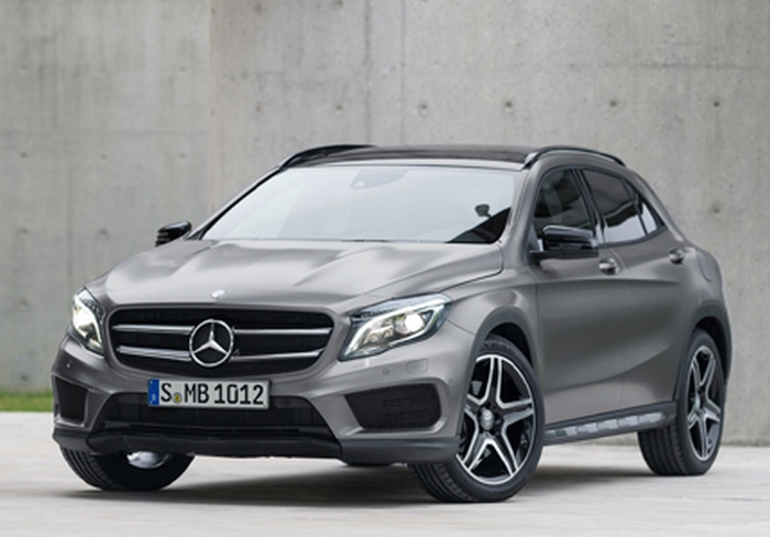Автомобиль Mercedes-Benz GLA250 4MATIC.