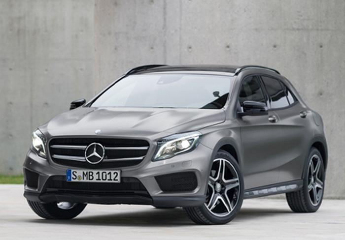 Автомобиль Mercedes-Benz GLA250 4MATIC.